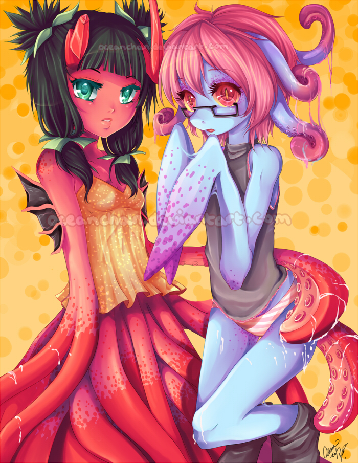 Slimy Babies by oceantann