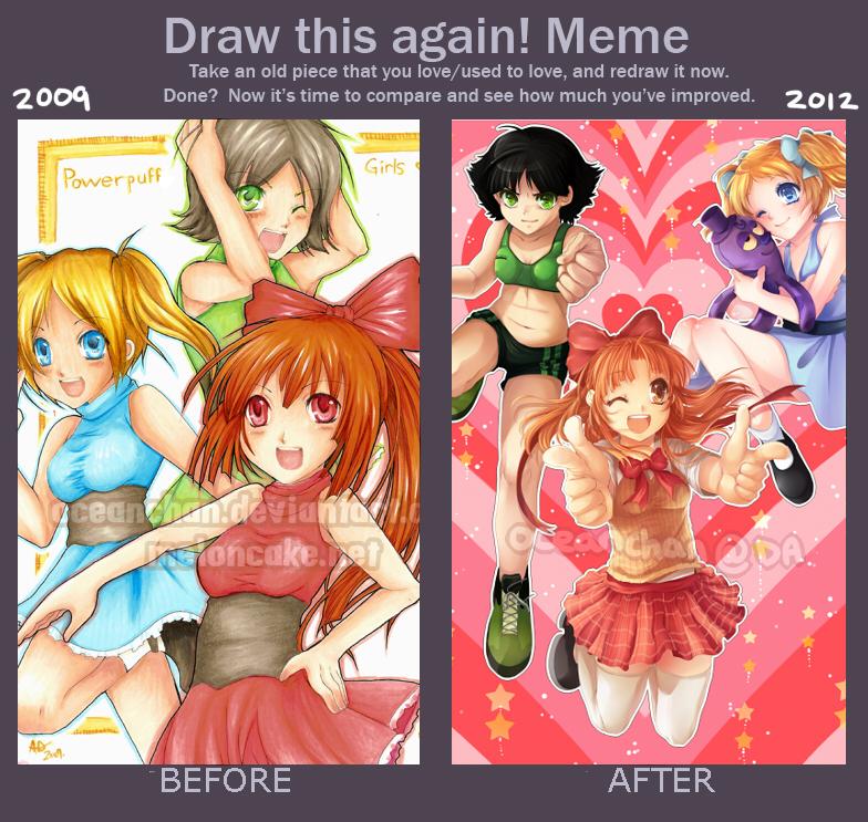 Draw This Again Meme #3 by oceantann