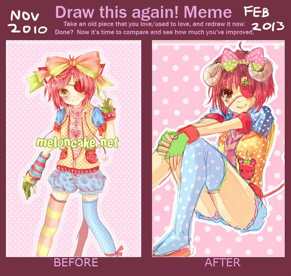 Draw This Again Meme #4 by oceantann