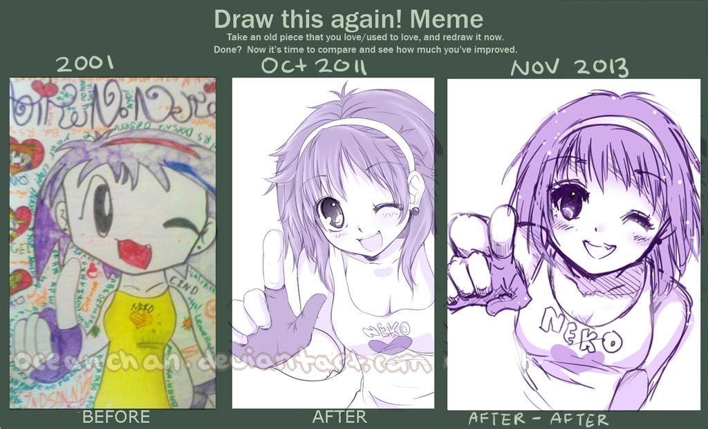 Draw This Again Meme #5 by oceantann