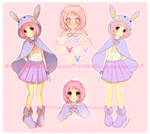 Adoptable Auction ::Lovely Bunny::