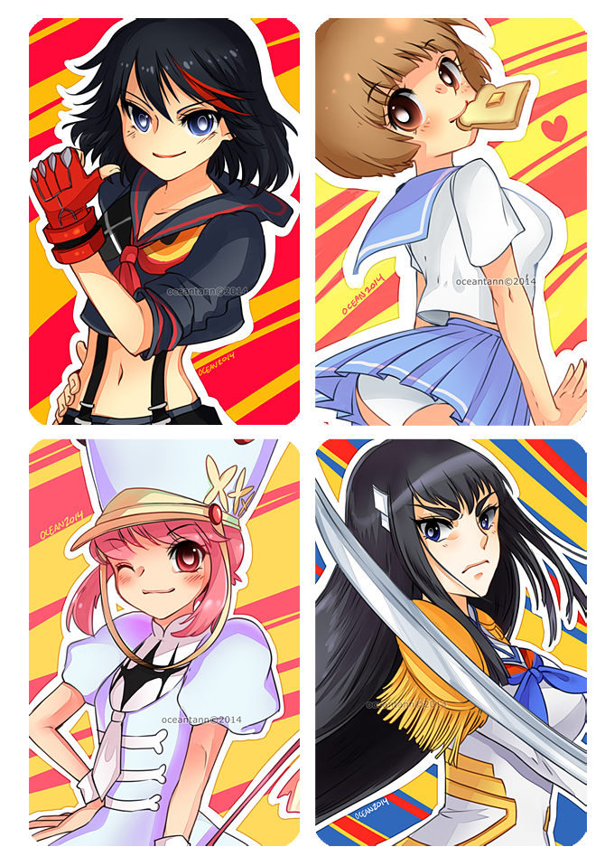 Kill La Kill Group by oceantann