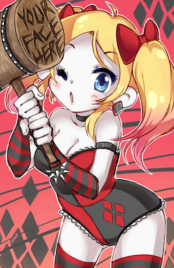 Harley Quinn by oceantann