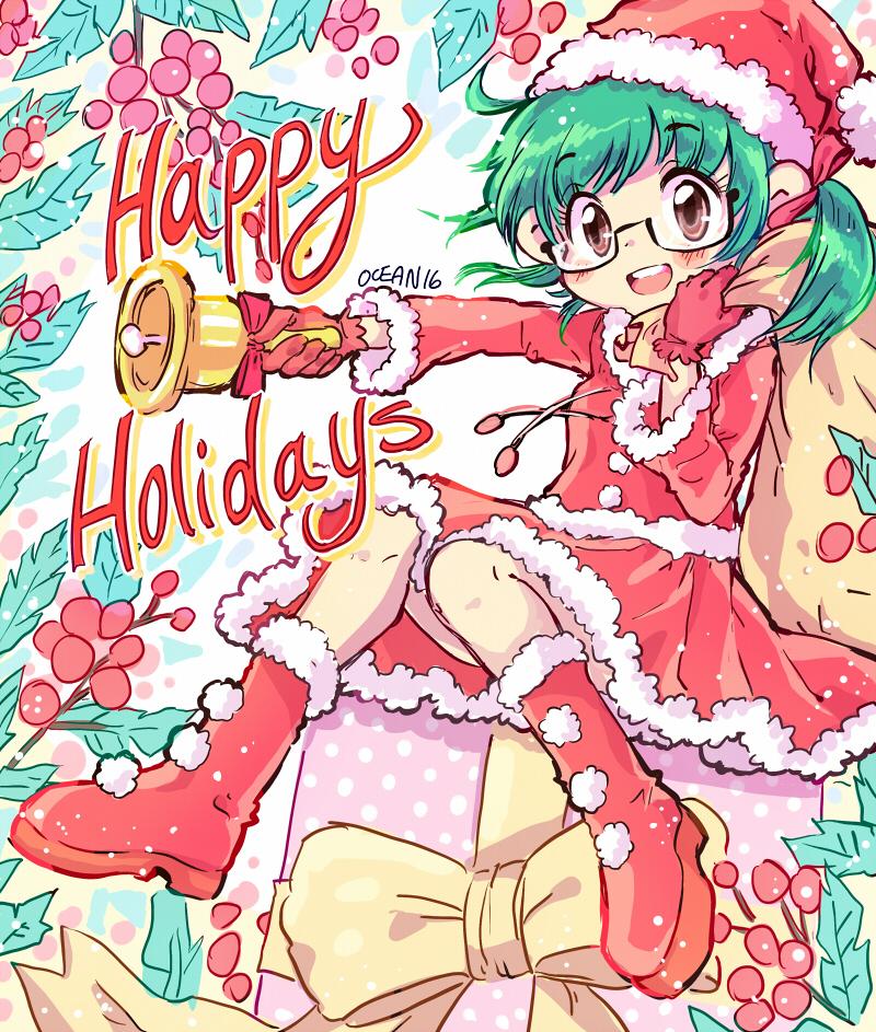 Happy Holidays 2016 by oceantann