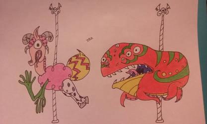 Joes Carousel of Weird Part 1 by cookiejoe1