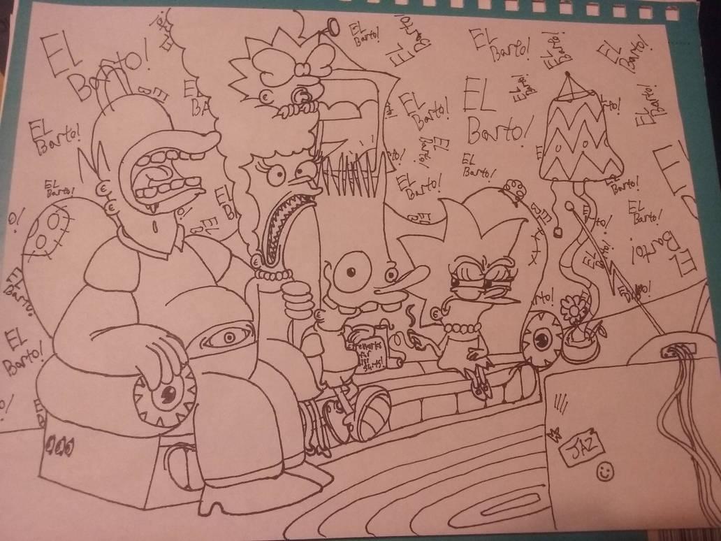 The Grimpsons by cookiejoe1