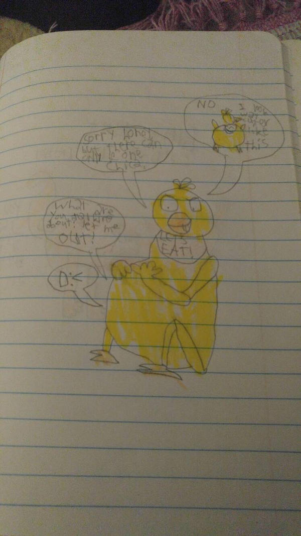 it's a Chica eat Chica world by pookiesaurus4