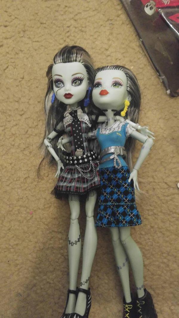 Frankie and Frankie by pookiesaurus4