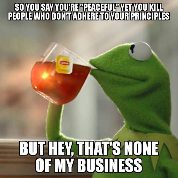 Kermit on extremist Muslim terrorists by pookiesaurus4