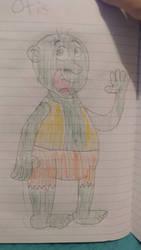 Otis the ogre, second rendtion by pookiesaurus4