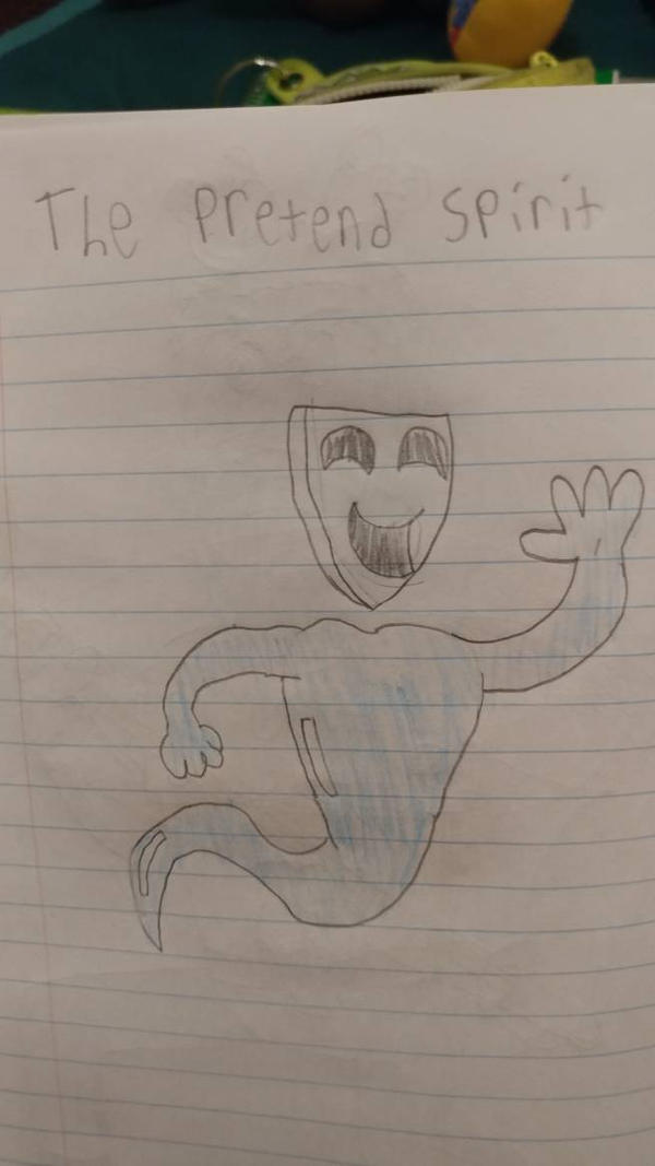 The Pretend Spirit by pookiesaurus4