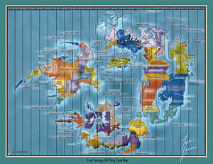 Final Fantasy VIII Time Zone Map