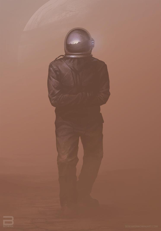 left behind #2- sandstorm by BNowakART