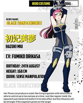 Hazuki Miu - Reference Sheet