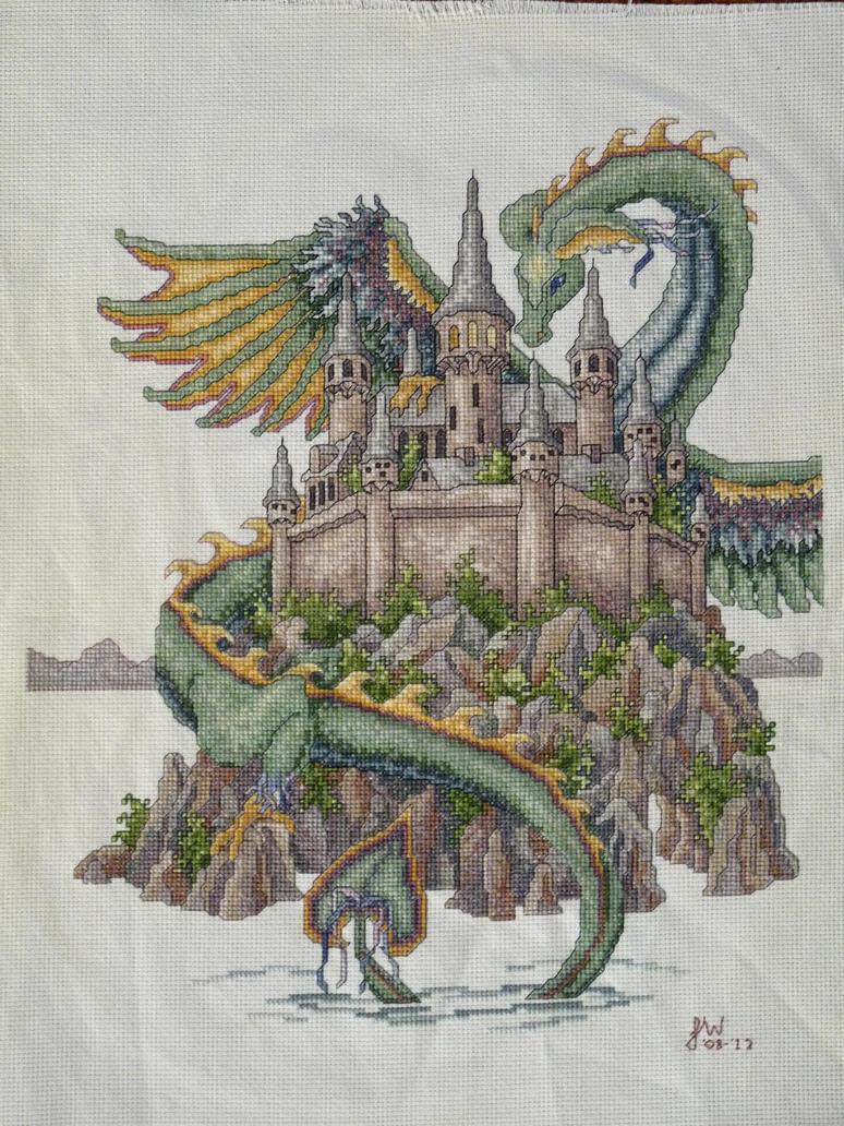 Dragon Cross Stitch By Anijess3 On Deviantart