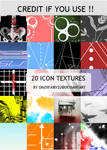 Pack 20 icon textures
