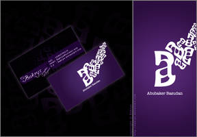 my Business card by Bakryx