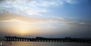 Marine scaffold in Jeddah by Bakryx