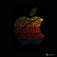 Colored Apple Macintosh by Bakryx