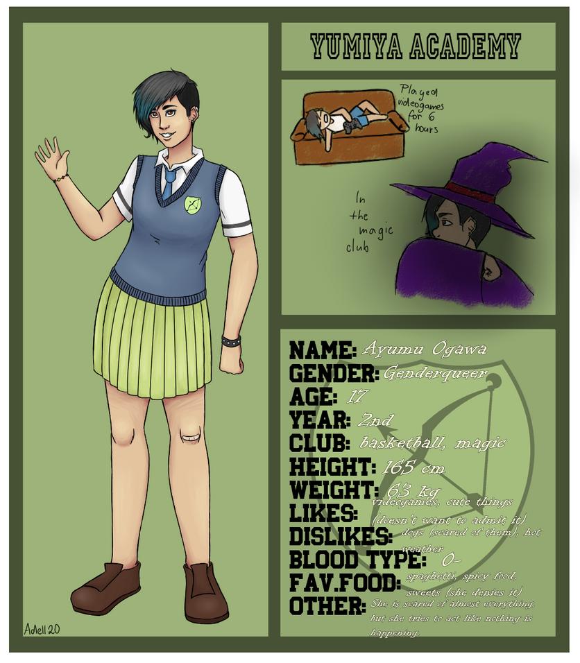OC for Yumiya Academy by Adell20