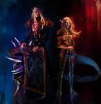 Theodora Nightsorrow and Lord Nightsorrow (comms)