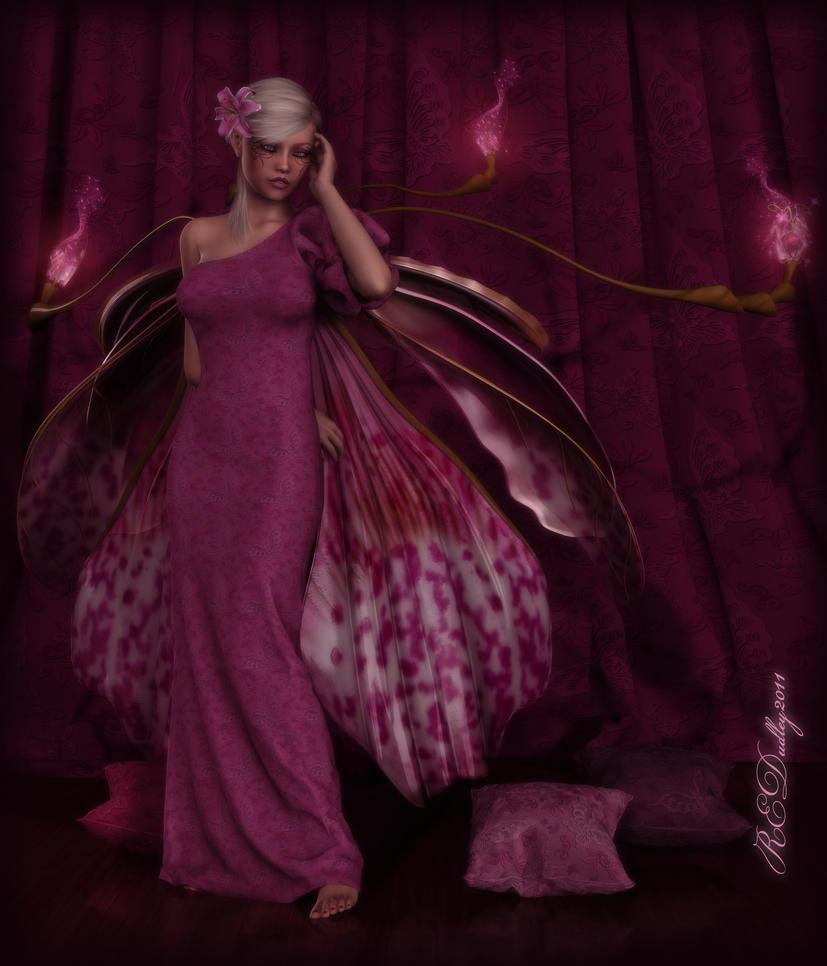 Pink Lady Slipper by AelarethElennar