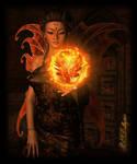 Faery Queen of Fire