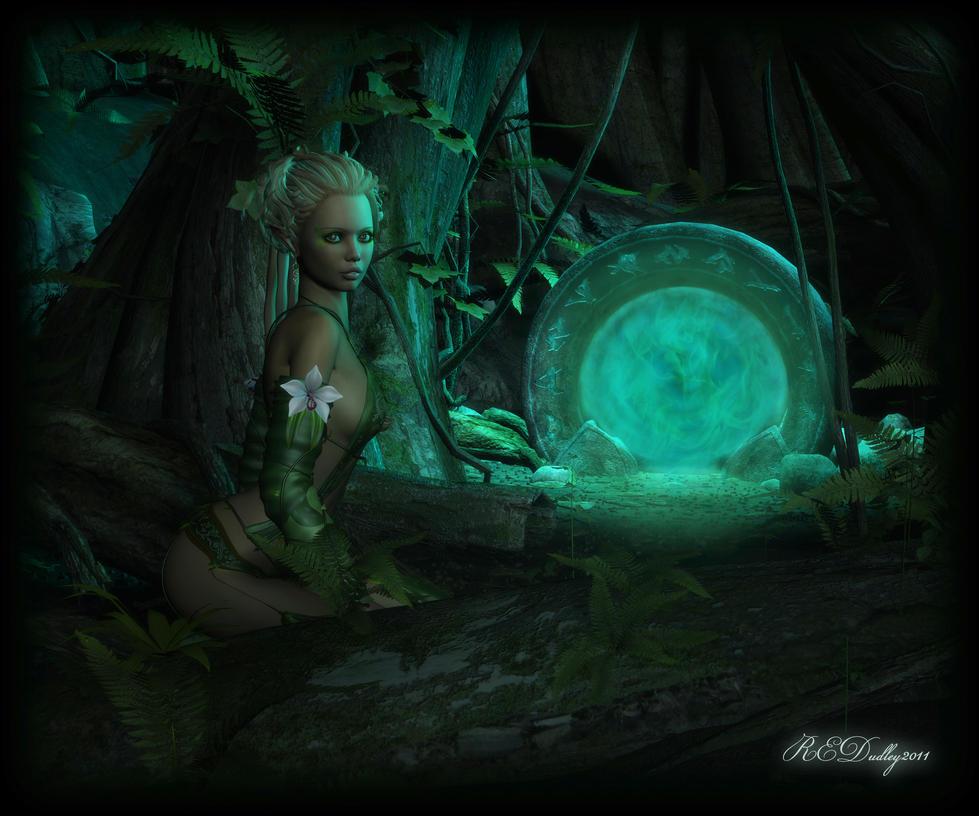 The Emerald Gate by AelarethElennar