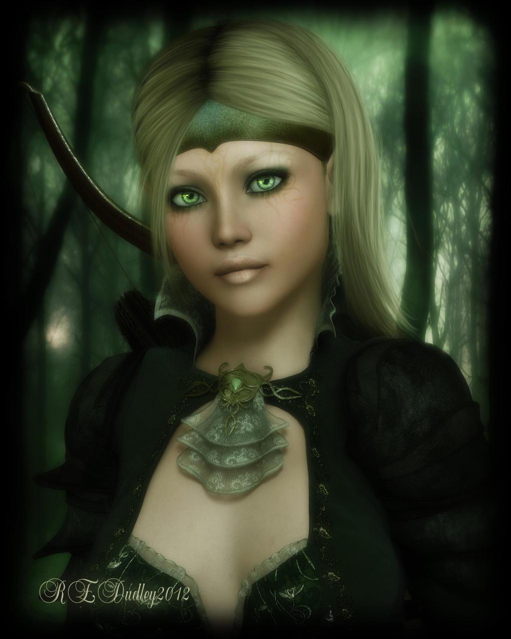 Ranger Green by AelarethElennar