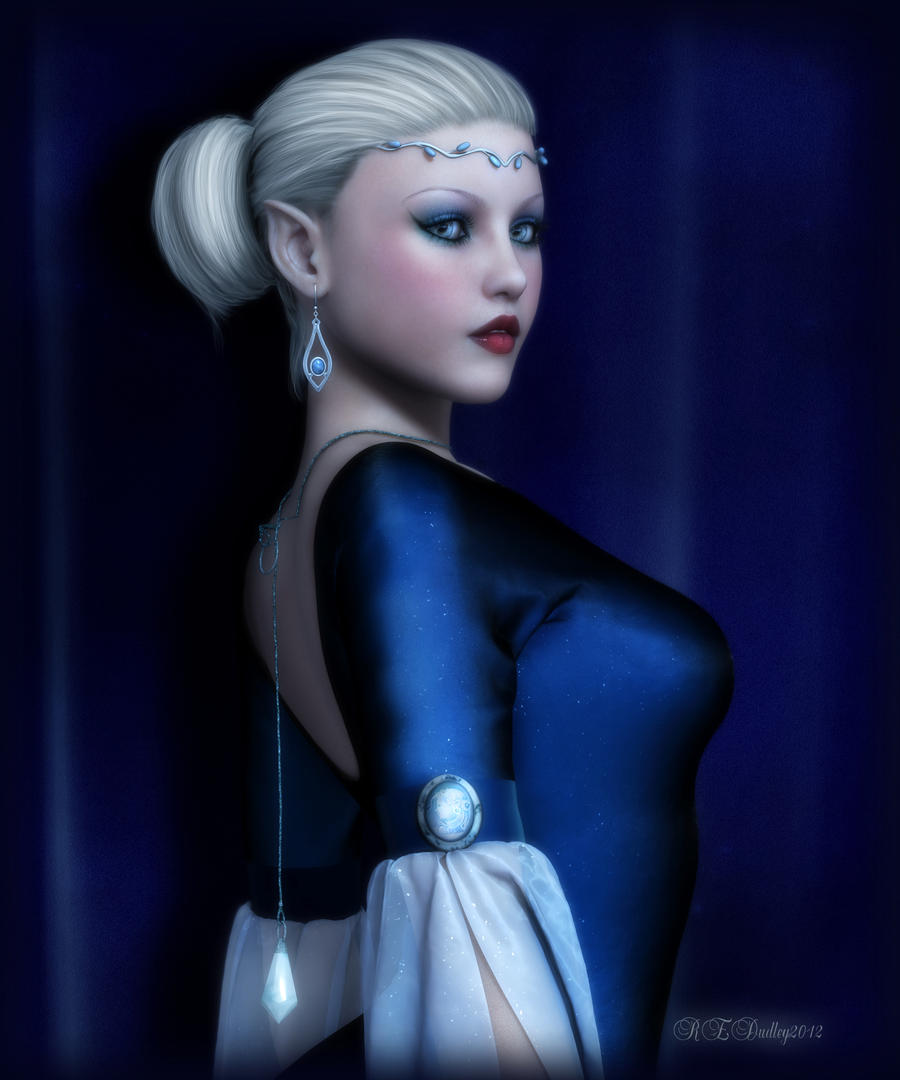 Royal Blue by AelarethElennar