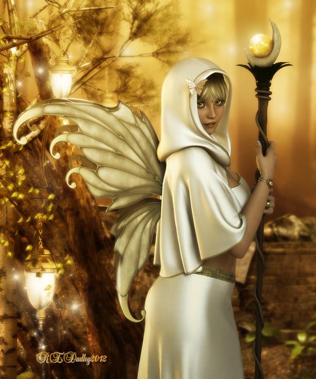 White Gold - Xmas Gift by AelarethElennar