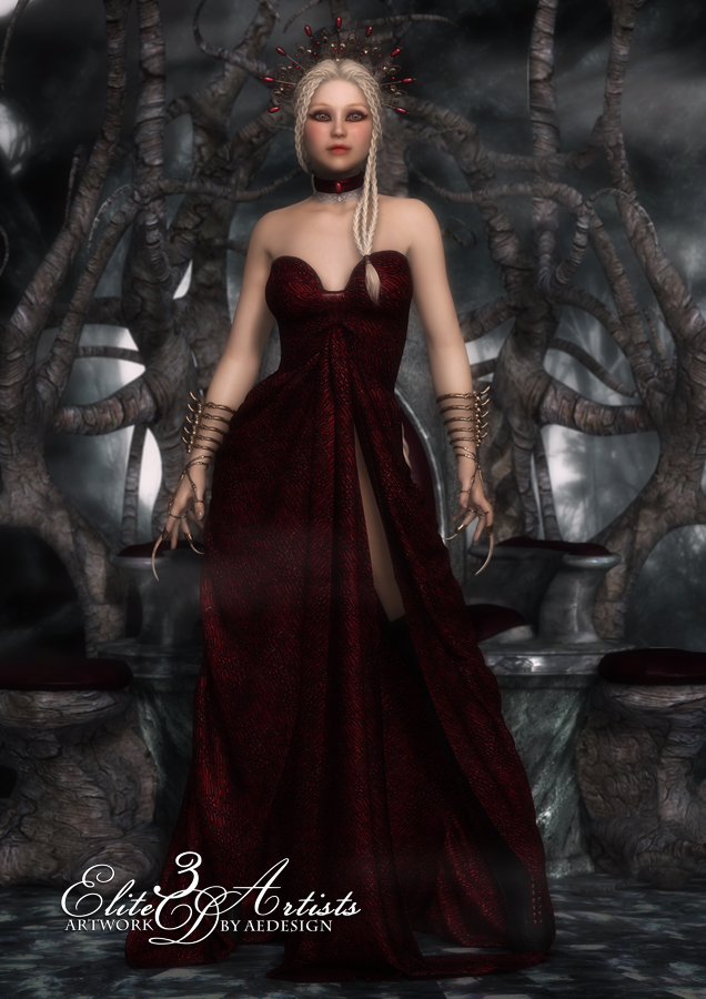 The Blood Queen by AelarethElennar