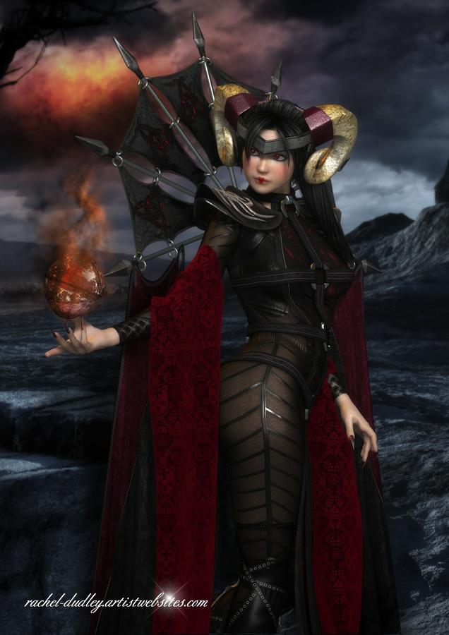 Shadow and Flame II by AelarethElennar