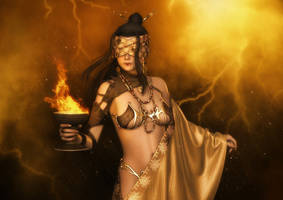 Elemental Shaman - Promo for BadKittehCo by AelarethElennar