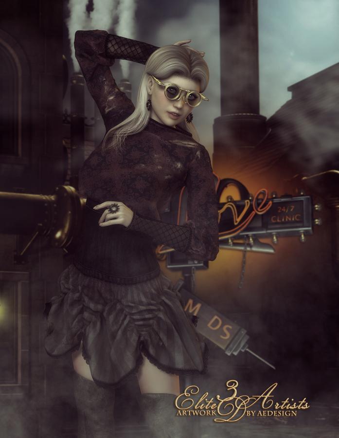 Attitude Fashion - I by AelarethElennar