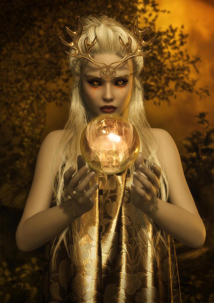 The Sun Goddess by AelarethElennar