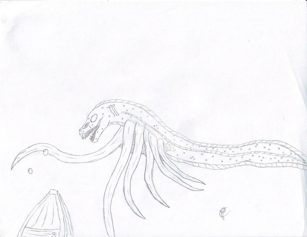 Crypt039A Lusca by Dragonsmana