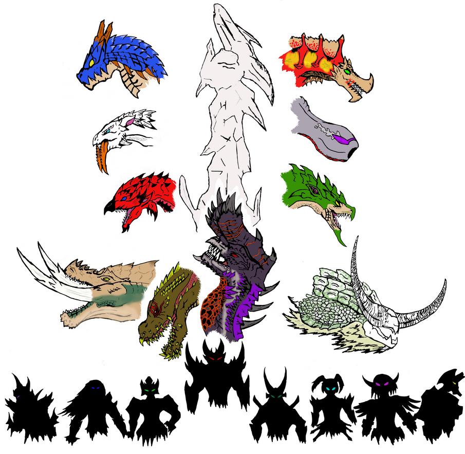 Monster Hunter Tri-bute by Dragonsmana