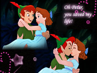 RESUBMIT: Peter holds Wendy collage by lisardo