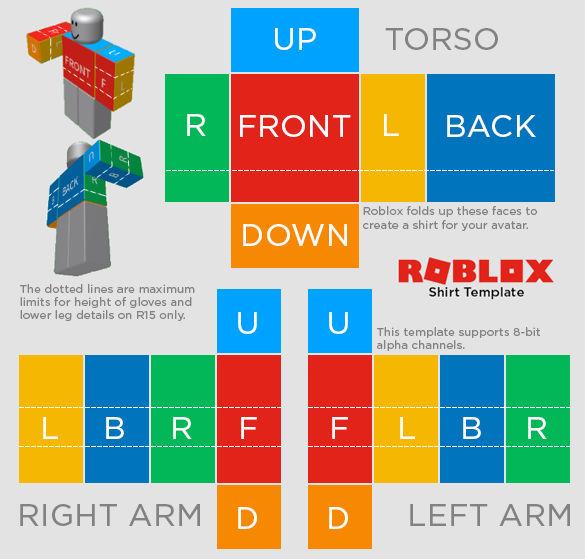 Roblox R15 Shirt Template By Waak99 On Deviantart