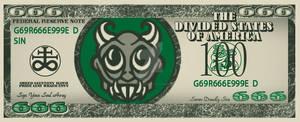 $666 Bill Front