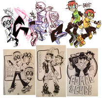 JSR+JSRF Doodles