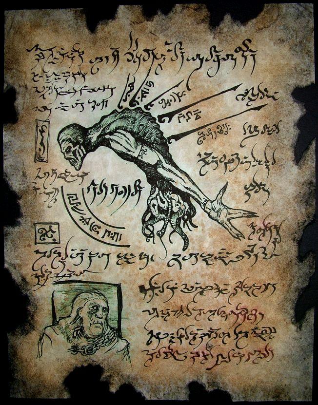 Necromancy by MrZarono