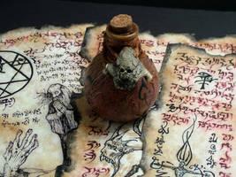 Witch Bottle by MrZarono