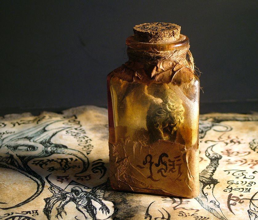 WITCH JAR by MrZarono