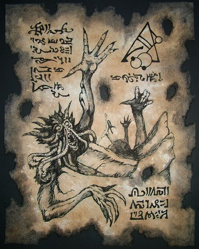 Hyperborean Sorcery by MrZarono