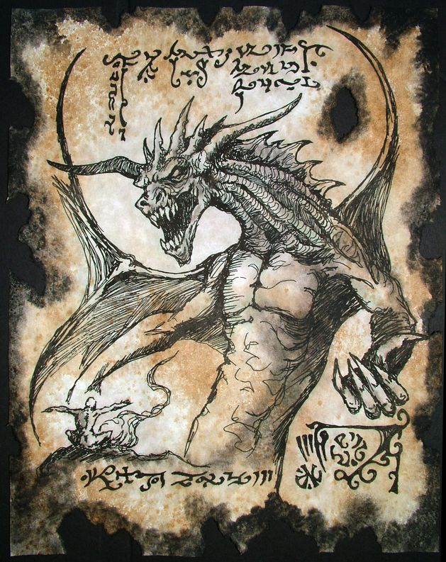 Dragon Magick by MrZarono