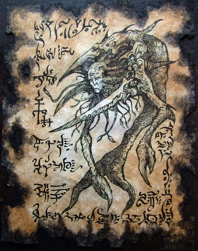 Larvae of Yog Sothoth by MrZarono
