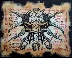 Demon Mask by MrZarono