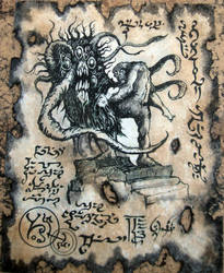 The Servant of Yag Guraam by MrZarono